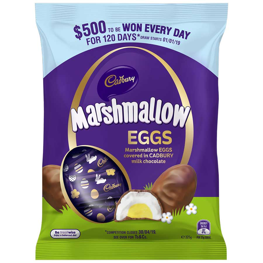 Marshmallow Eggs 13 Pack
