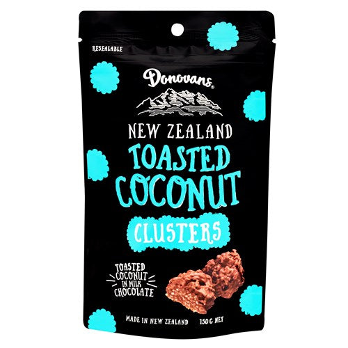 Donovan's - Toasted Coconut Clusters 150g