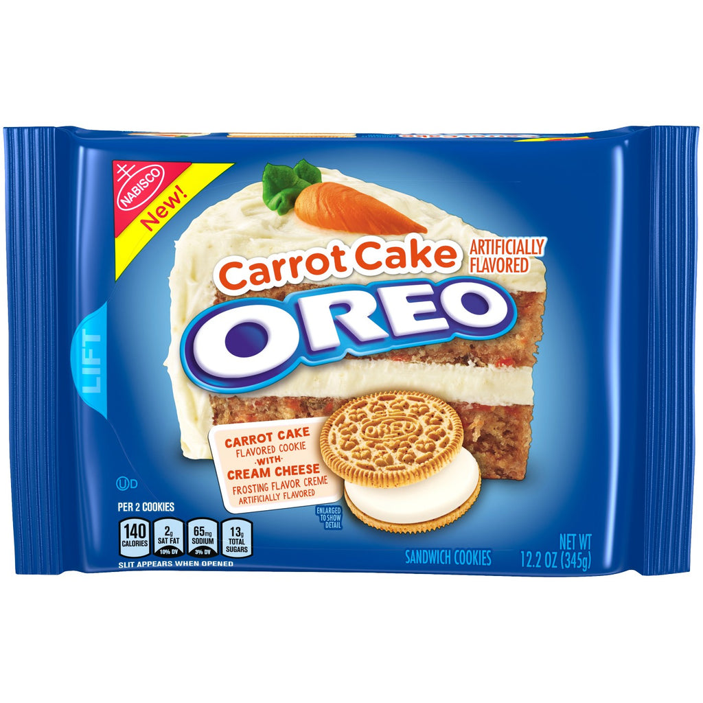 Carrot Cake Oreos 345g Past Best Before