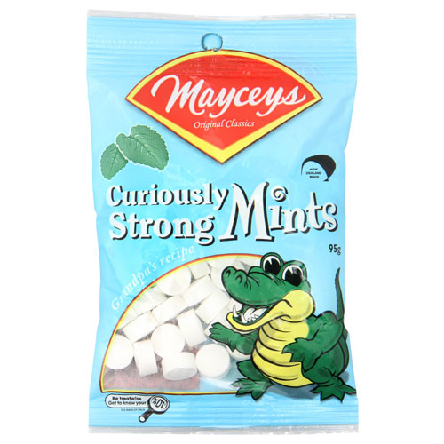 Mayceys - Curiously Strong Mints 95g