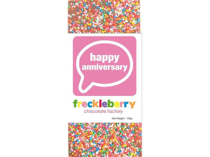 Freckleberry - Happy Anniversary block 100g