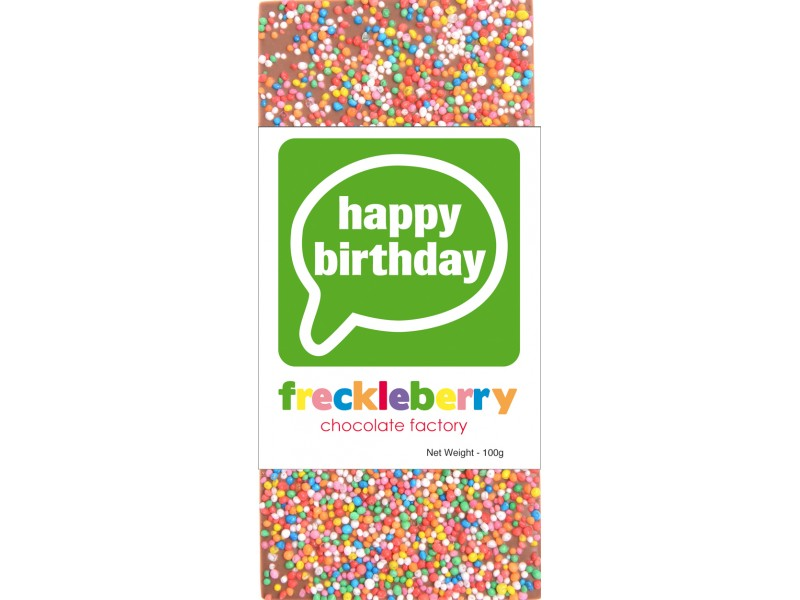 Freckleberry - Happy Birthday block 100g