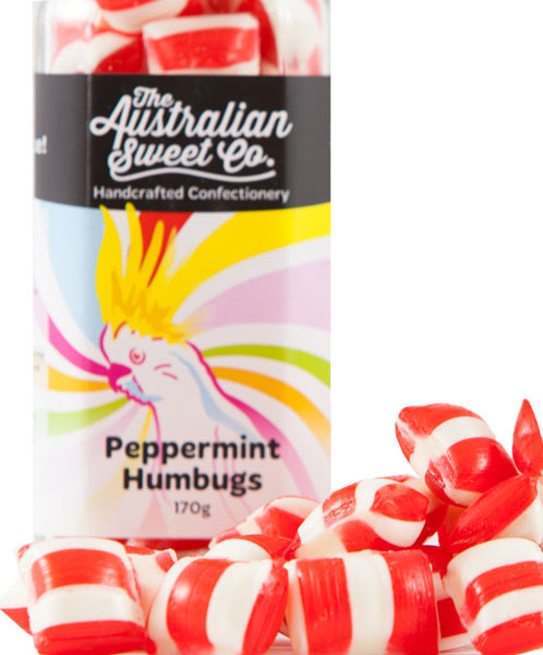 The Australian Sweet Co. Peppermint Humbugs 170g