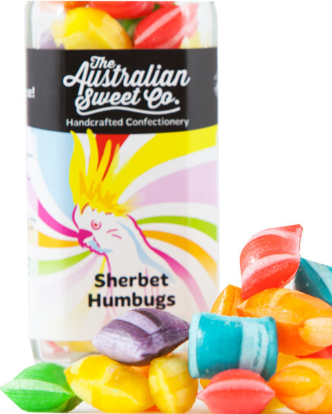 The Australian Sweet Co. Sherbet Humbugs 170g