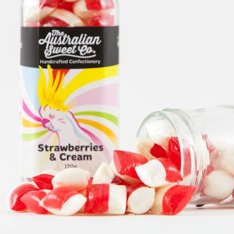 The Australian Sweet Co. Strawberries & Cream 170g