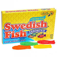 Swedish Fish Assorted 99g