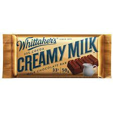 Whittaker's - Creamy Milk Slab 50g