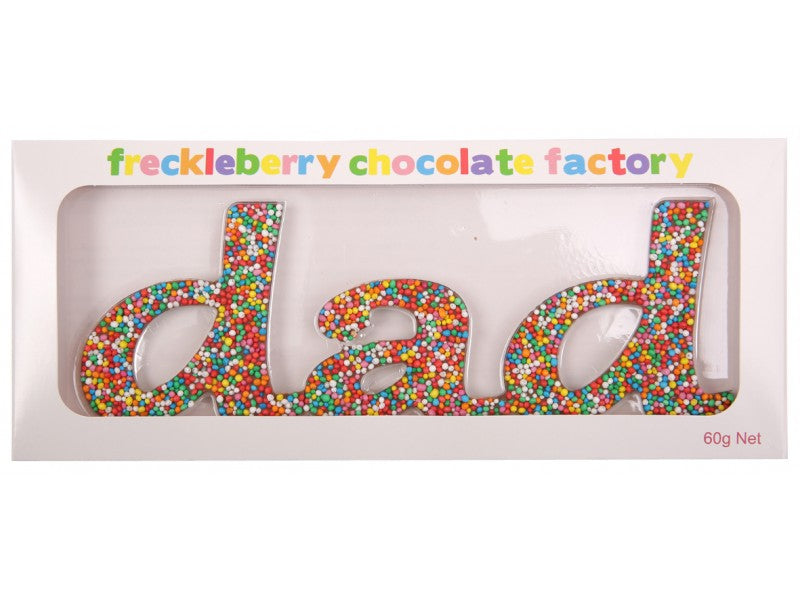 Freckleberry - Dad Chocolate word