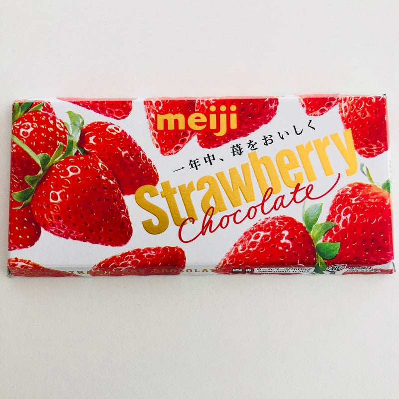 Meiji - Strawberry Chocolate 46g
