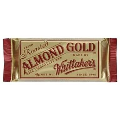 Whittaker's - Almond Gold Slab 50g