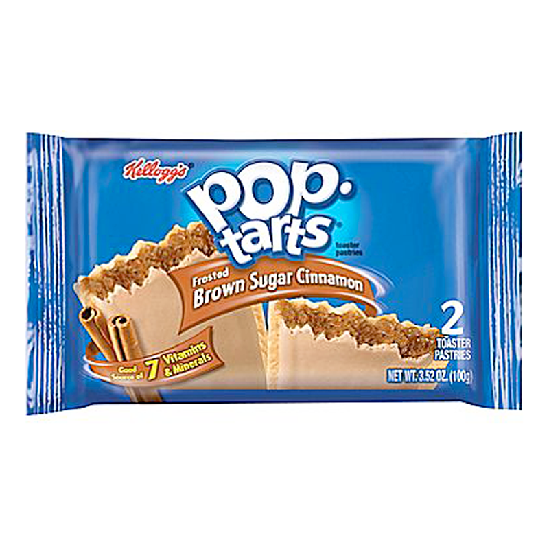 Pop Tarts Brown Cinnamon Sugar - Twin Pack