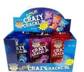 TNT - Sour Crazy Crackles 10g