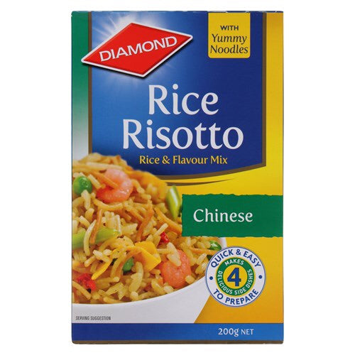 Diamond - Chinese Rice Risotto 200g Past Best Before