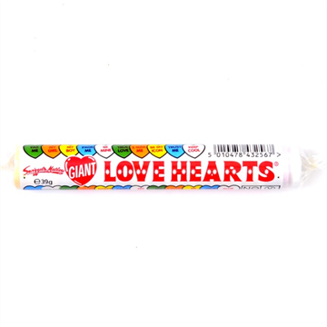 Swizzels - Giant Love Hearts 39g