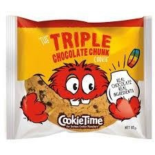 Cookie Time - Triple Chocolate Chunk 85g