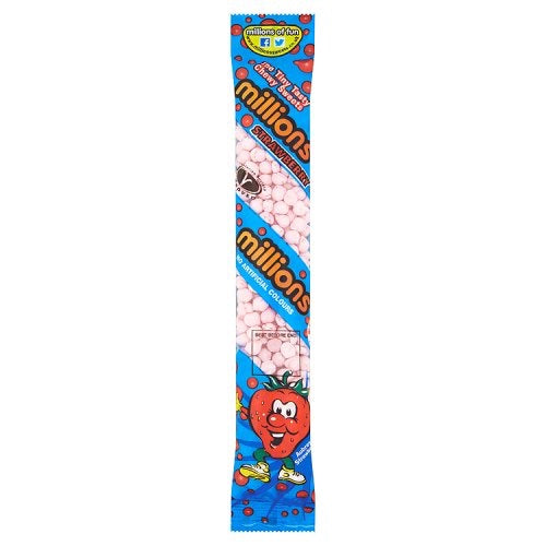 Millions - Strawberry Tube 60g
