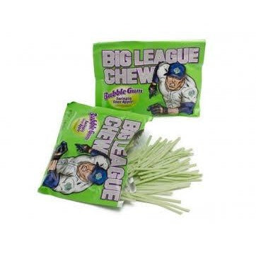 Big League - Sour Apple Bubble Gum 60g