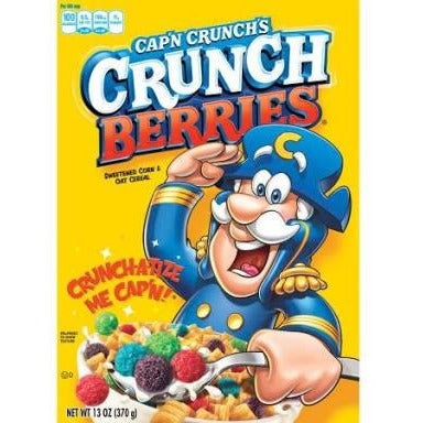 Cereal - Cap'n Crunch Berries 370g