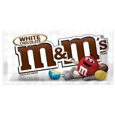 M&M's - White Chocolate 42.5g