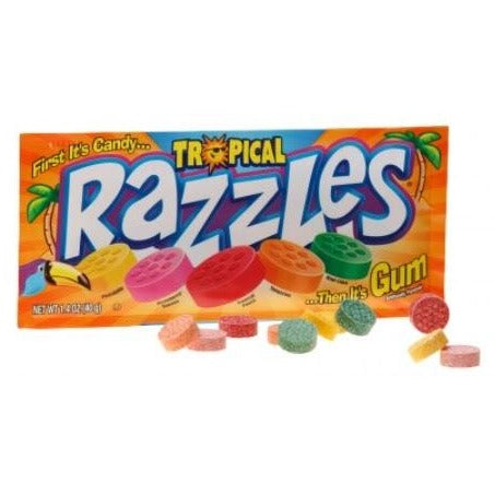 Razzles - Tropical 40g