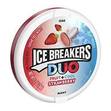 Ice Breakers - Strawberry 36g