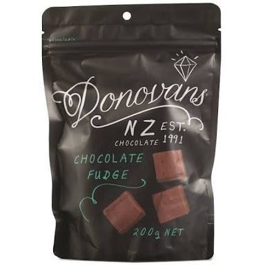 Donovan's - Chocolate Fudge 200g