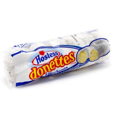 Hostess - Powdered Donettes