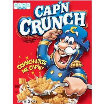 Cereal - Cap'n Crunch 398g