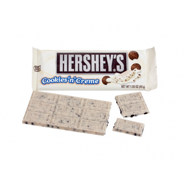 Hershey's - Cookies & Cream Milk Chocolate 43g