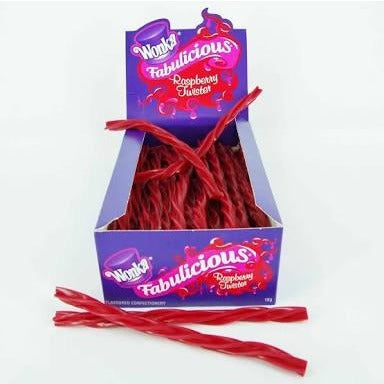 Wonka - Raspberry Twists