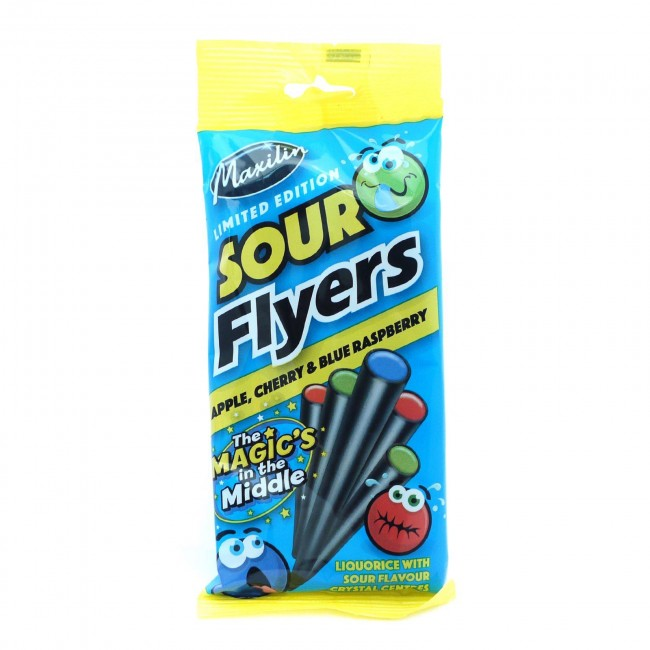 Maxilin Sour Flyers 75g
