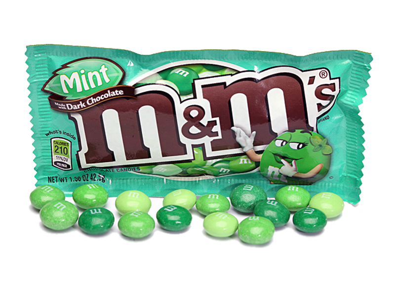 M&M's - Dark Chocolate Mint 42g