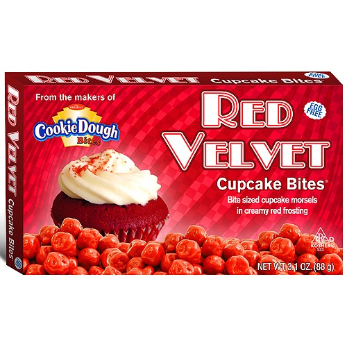Cookie Dough - Red Velvet Cupcake Bites 88g