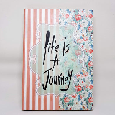 Life is a journey-Hardcover Notebook-noota_stationery-RowaqBookstore
