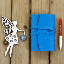 Colorfull Leather Notebook-Leather Notebooks-RowaqBookstore-أزرق فاتح-RowaqBookstore