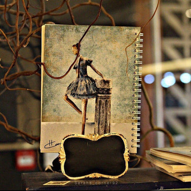 دفتر راقصة البالية-Softcover Notebook-Rowaq Stationery and Bookstore-RowaqBookstore