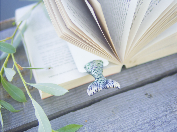 mermaid tail book mark
