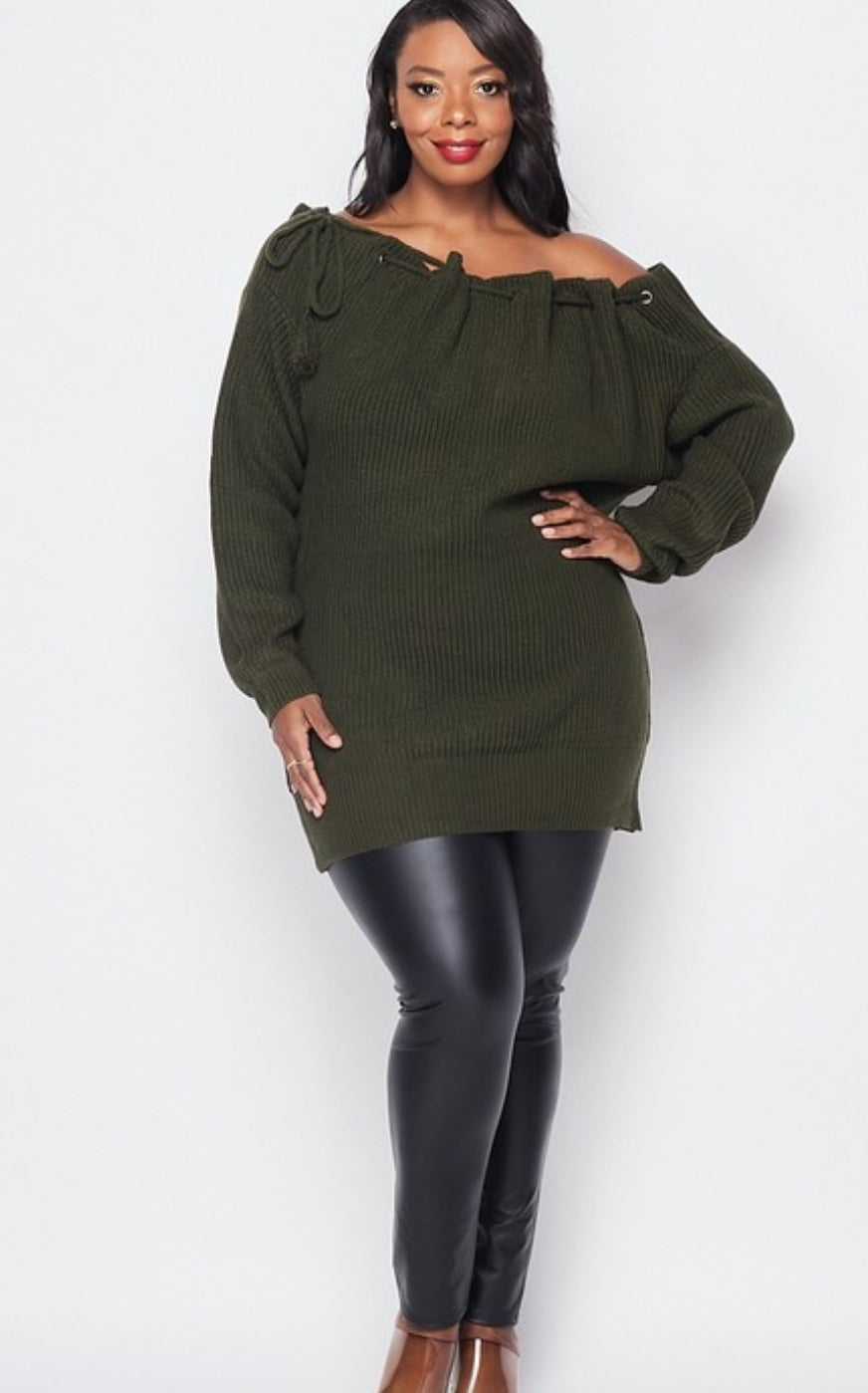 Hunt For Love Tunic Sweater