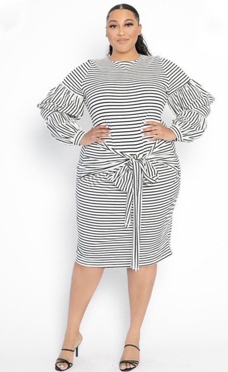 Perfect Harmony Stripe Dress