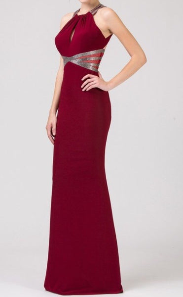 Fitted Sparkle Long Dress - Fashdime shopfashdime.com
