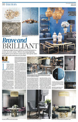Brave lighting in the Sunday Business Post April '18
