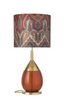 Lute table lamp
