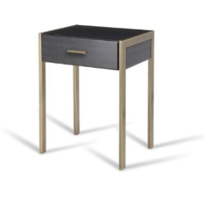 Black Ettor side table