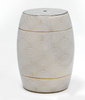Monochrome ceramic stool SALE