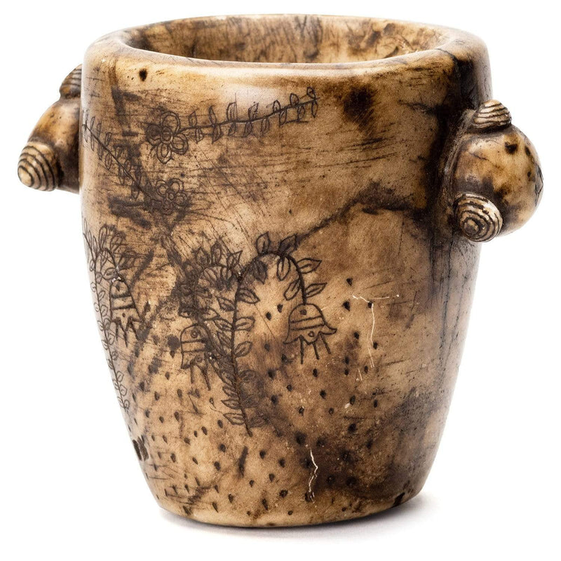 Ceremonial Stone Carved Cup