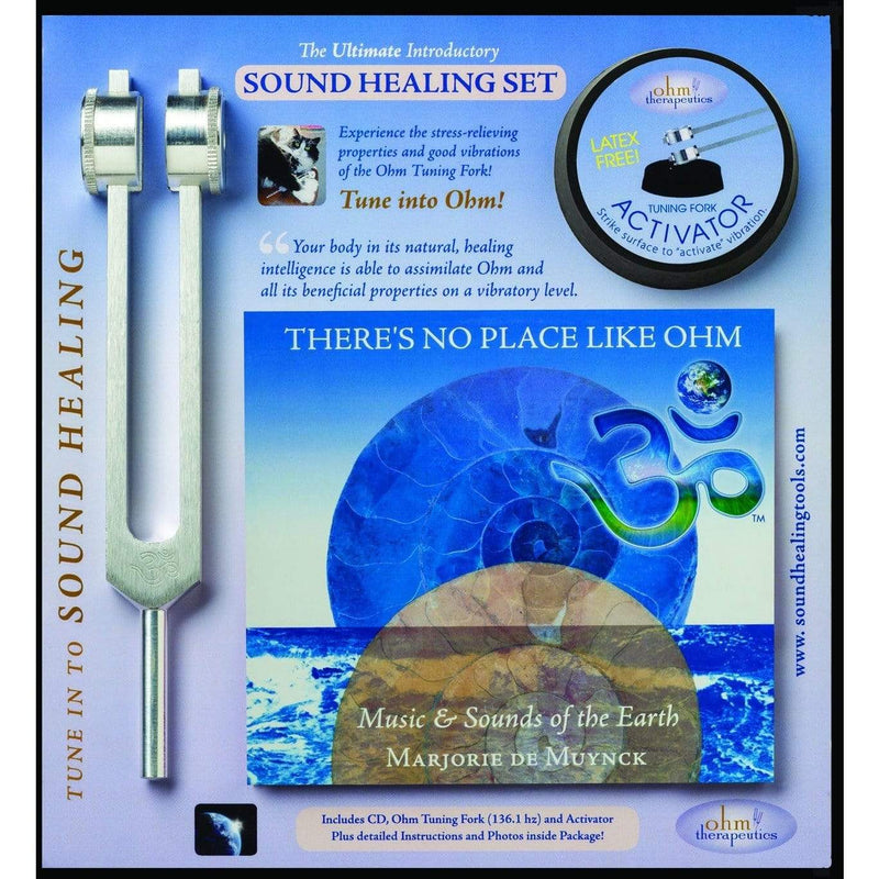 Tuning Fork - Introductory Sound Healing Set w/CD