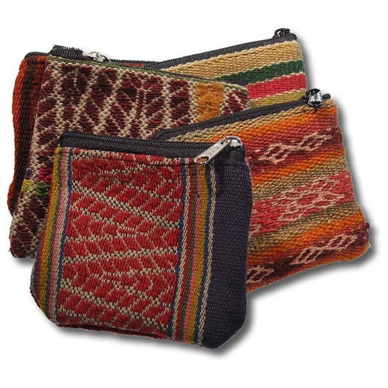 Peruvian Zipper Bag - Small