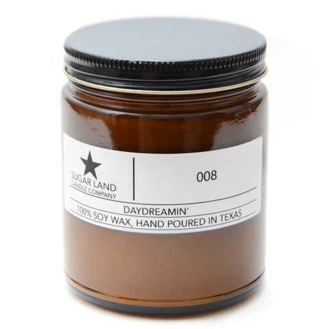 Daydreamin' - 100% Soy Wax Candle Classic Size 7.2oz