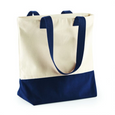 HEAVY DUTY CONTRAST COTTON TOTE BAG