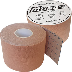 Murgs Beige Hand Tape/ Kinesiology tape 5m roll
